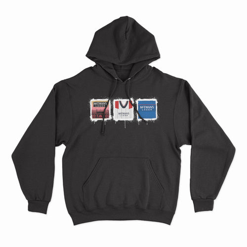 Rangers Kit Culture Black Hoodie-Hoodie-The Terrace Store