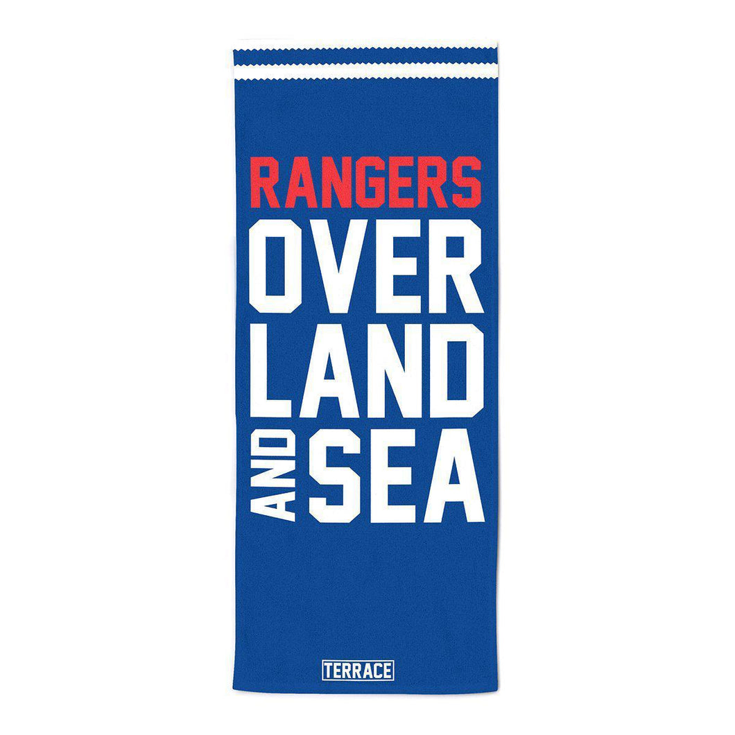 Rangers Over Land & Sea Beach Towel-Towels-The Terrace Store