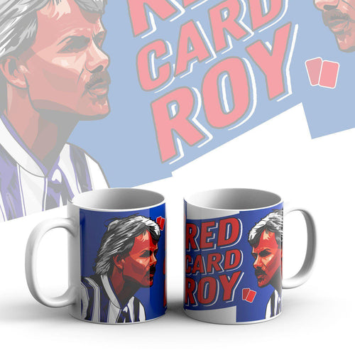 Grady Draws Red Card Roy Colchester Mug