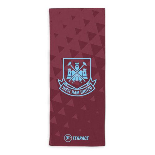 West Ham United Retro Crest Towel
