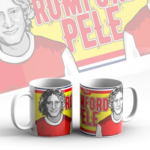 Grady Draws Romford Pele Arsenal Mug