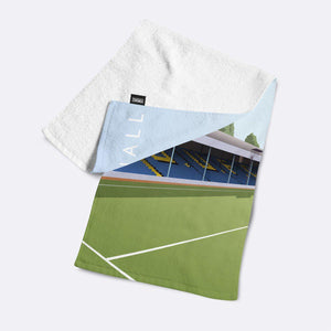 Roots Hall Illustrated Towel-Towels-The Terrace Store
