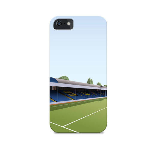 Roots Hall Illustrated Phone Case