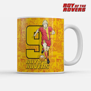 Roy of the Rovers Number 9 Mug-Mugs-The Terrace Store