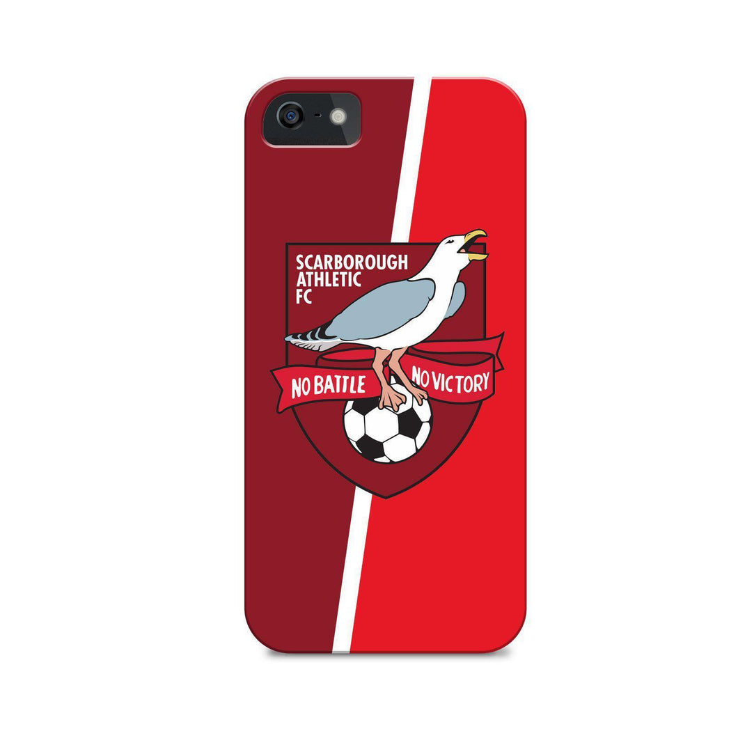 Scarborough Badge Phone Case-CASES-The Terrace Store