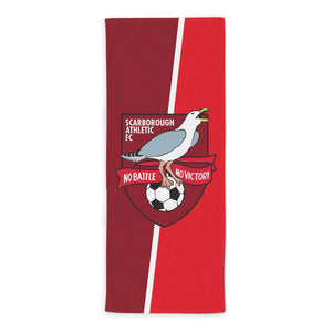 Scarborough Athletic Official Badge Beach Towel-Towels-The Terrace Store