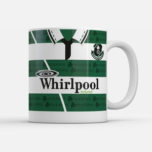 Official Shamrock Rovers '94 Home mug-Mugs-The Terrace Store
