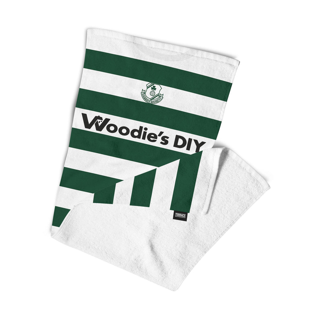 Official Shamrock Rovers '06 Home Towel-Towels-The Terrace Store
