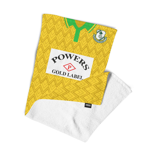 Official Shamrock Rovers '92 Away Towel-Towels-The Terrace Store