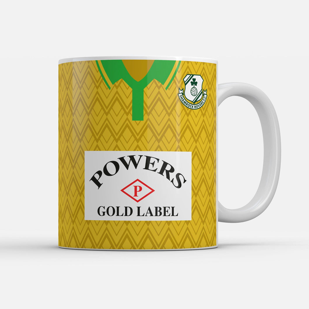 Official Shamrock Rovers '92 Away mug
