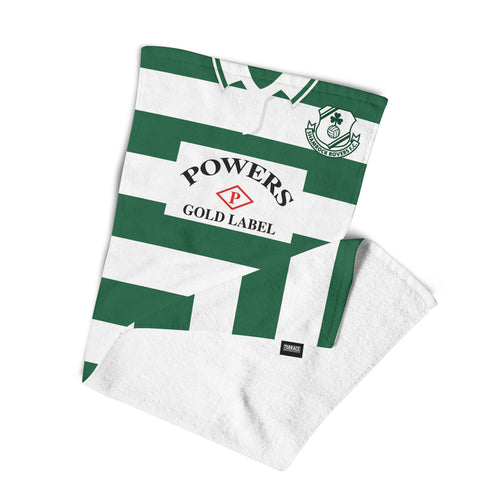 Official Shamrock Rovers '92 Home Towel-Towels-The Terrace Store