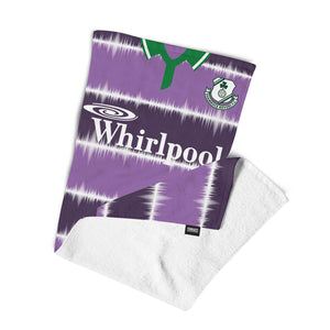 Official Shamrock Rovers '94 Away Towel-Towels-The Terrace Store