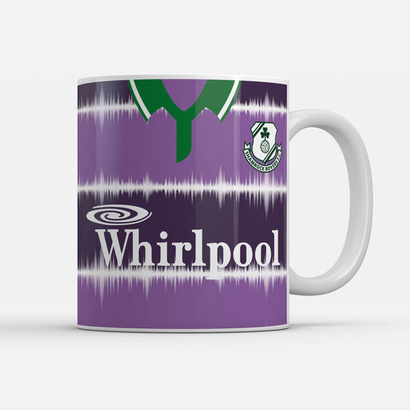 Official Shamrock Rovers '94 Away mug