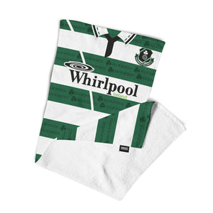 Official Shamrock Rovers '94 Home Towel-Towels-The Terrace Store