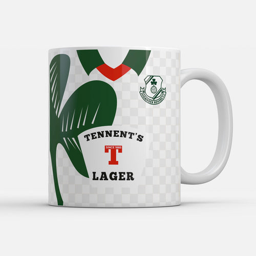Official Shamrock Rovers '96 Away mug-Mugs-The Terrace Store