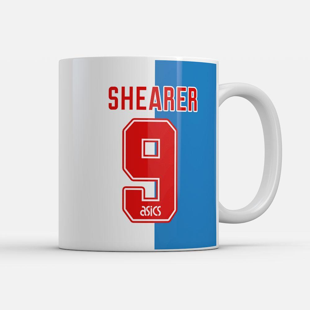 Shearer 9 - 1994/95 champions classics mug-Mugs-The Terrace Store