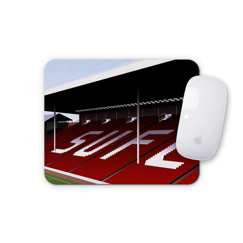 Bramall Lane Illustrated Mouse Mat-Mouse mat-The Terrace Store