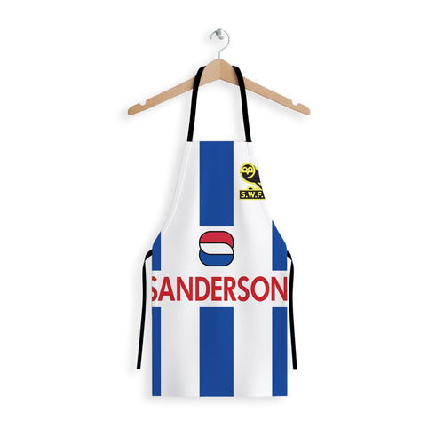 Sheffield Wednesday 1992 Apron-Aprons-The Terrace Store