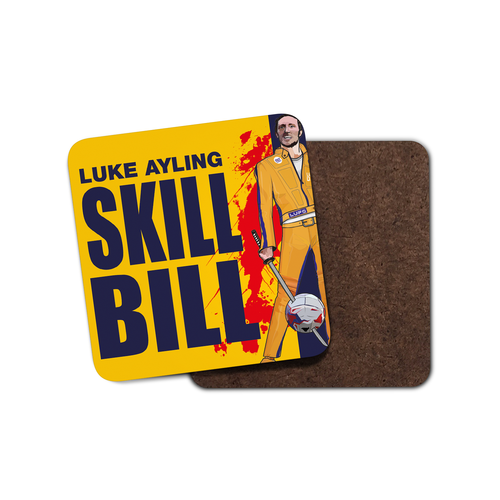 Grady Draws Skill Bill Coaster
