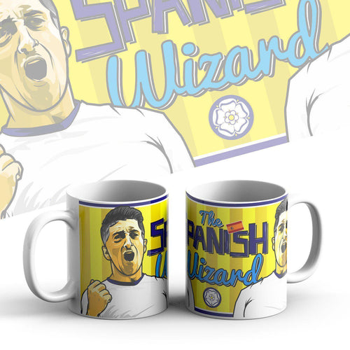 Grady Draws Spanish Wizard Mug