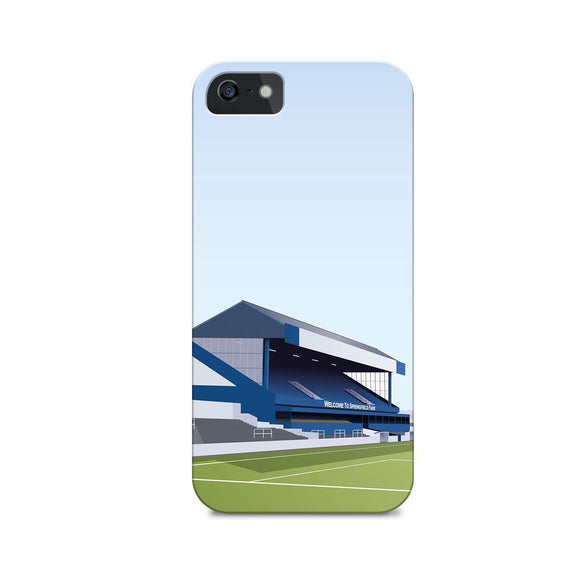 wigan football gift illustrated phone case