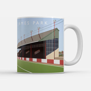 St James Park Illustrated Mug-Mugs-The Terrace Store