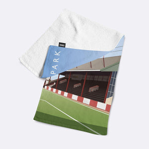 St James Park Illustrated Towel-Towels-The Terrace Store