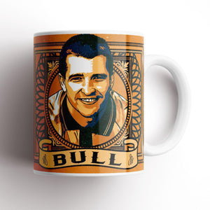 Grady Draws Bull Wolves Mug-Mugs-The Terrace Store