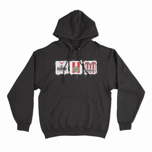 Sunderland Kit Culture Black Hoodie-Hoodie-The Terrace Store