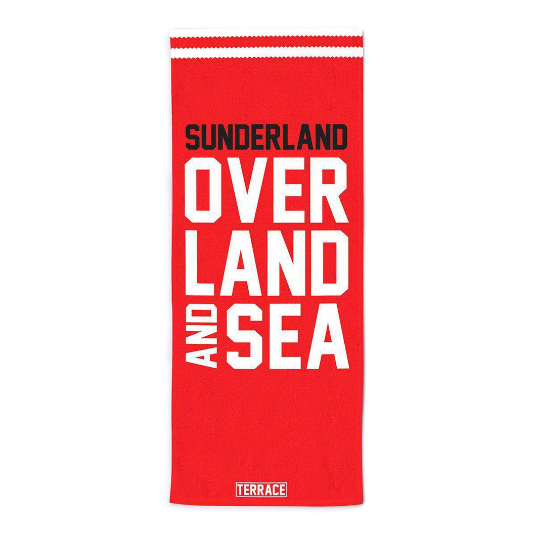 Sunderland Over Land & Sea Beach Towel