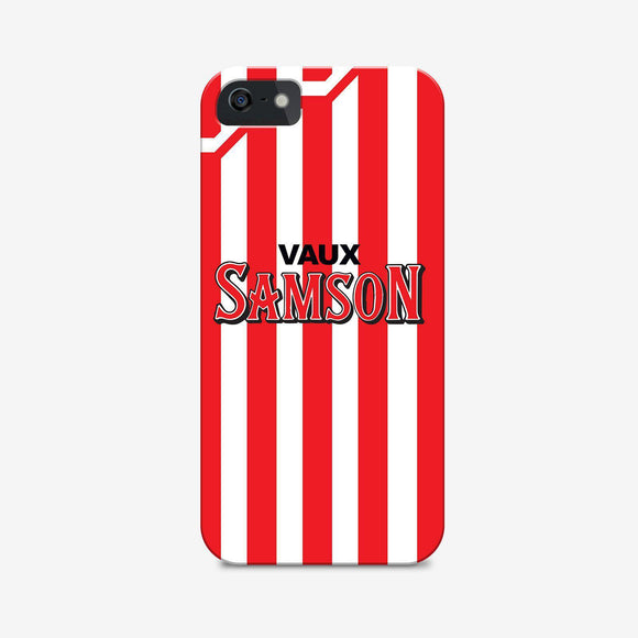 sunderland retro kit phone case