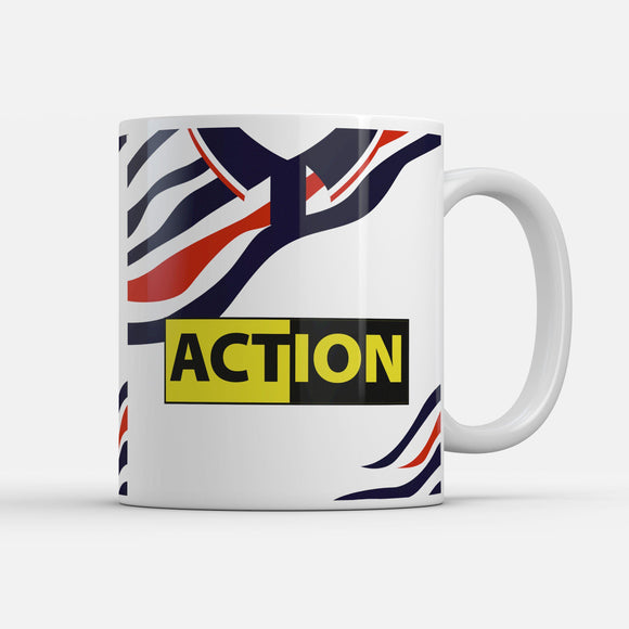 Swansea 1992 Home Retro Inspired Mug