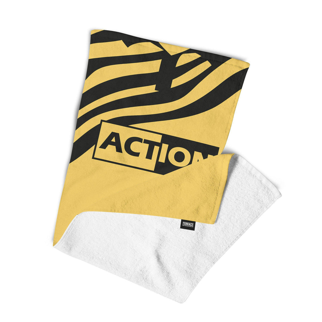Swansea City 93 Away Towel-Towels-The Terrace Store