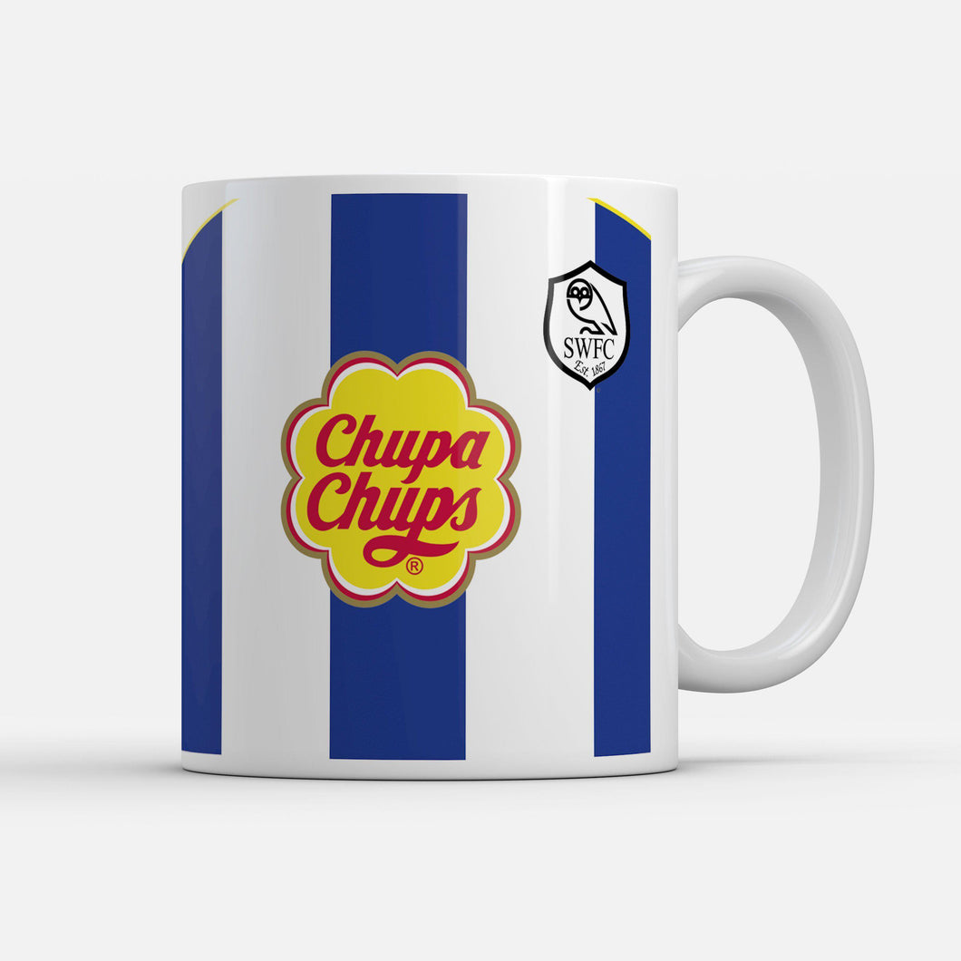 Official Sheffield Wednesday '01 Home Mug-Mugs-The Terrace Store