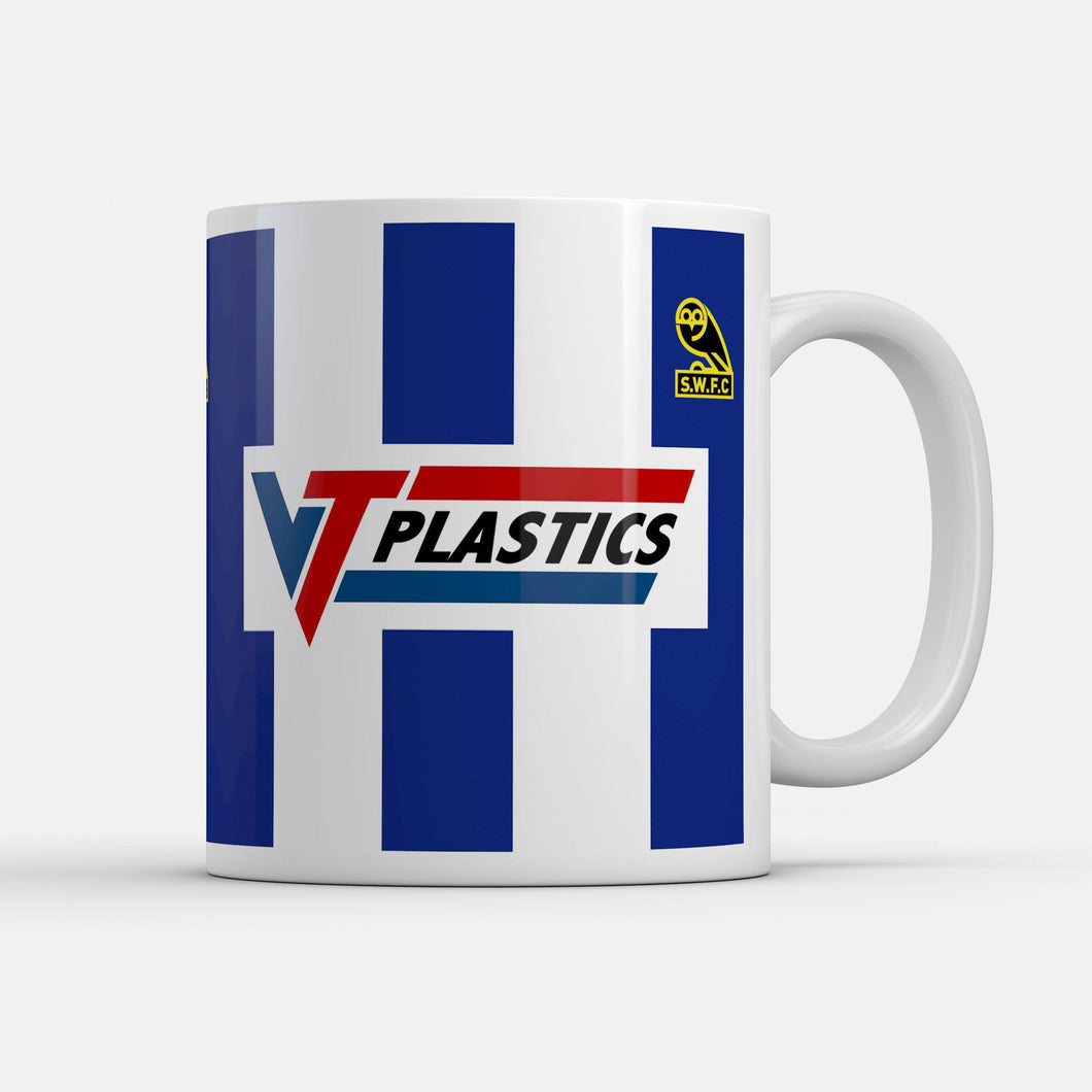 Official Sheffield Wednesday '90 Home Mug-Mugs-The Terrace Store