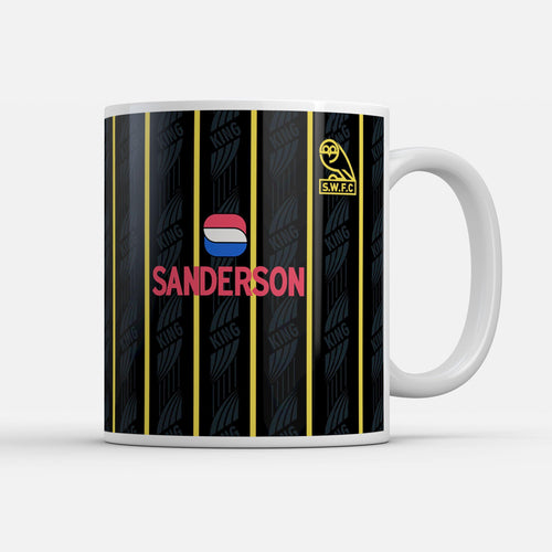 Official Sheffield Wednesday '94 Away Mug