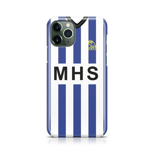 Sheffield Wednesday 1984 Away Phone Case