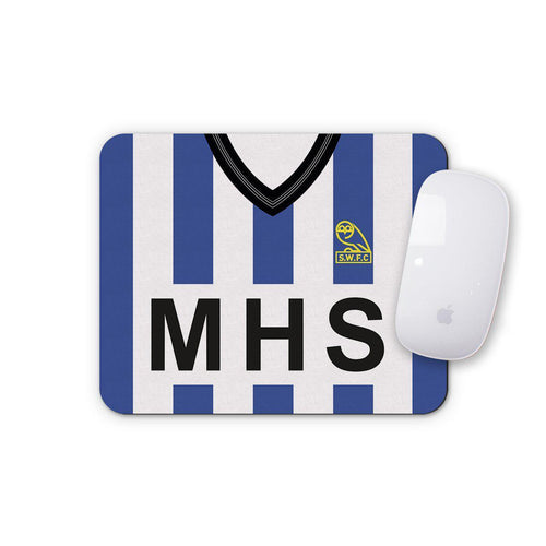 Sheffield Wednesday 1985 Mouse Mat-Mouse mat-The Terrace Store