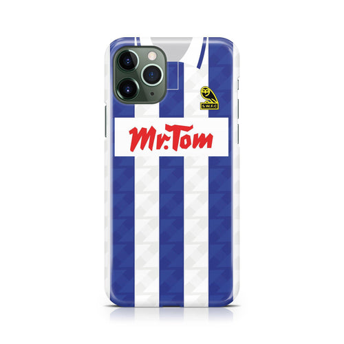 Sheffield Wednesday 1992 Home Phone Case-CASES-The Terrace Store