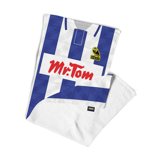 Official Sheffield Wednesday '92 Home Towel-Towels-The Terrace Store