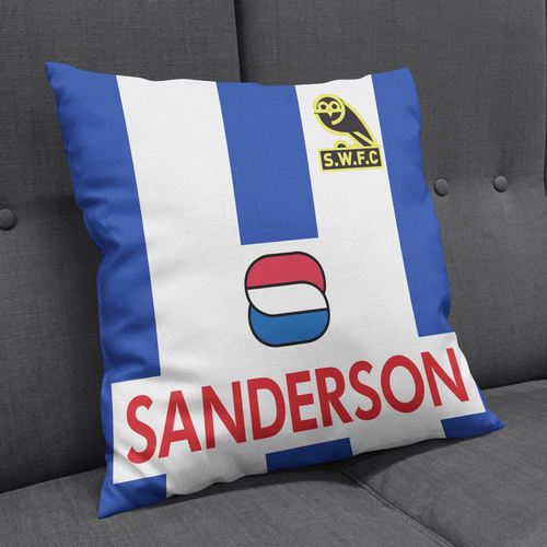 Sheffield Wednesday 92 Away Cushion