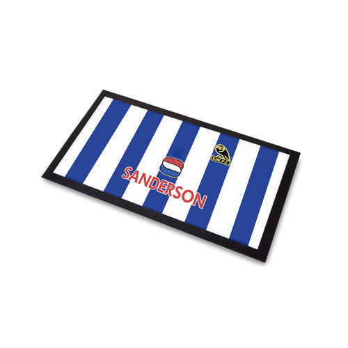 Sheffield Wednesday 1994 Home Bar Runner