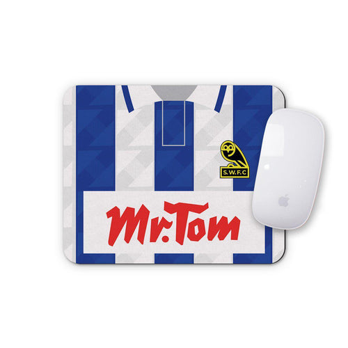 Sheffield Wednesday 1992 Home Mouse Mat-Mouse mat-The Terrace Store