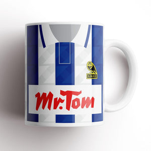 Official Sheffield Wednesday 1992 Home Mug-Mugs-The Terrace Store