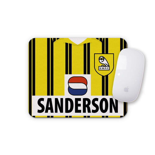 Sheffield Wednesday 1993 Away Mouse Mat-Mouse mat-The Terrace Store
