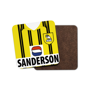 Sheffield Wednesday 1993 Away Coaster-Coaster-The Terrace Store