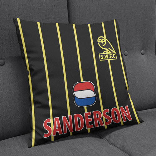 Sheffield Wednesday 94 Away Cushion