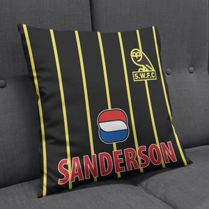 Sheffield Wednesday 94 Away Cushion-Cushions-The Terrace Store