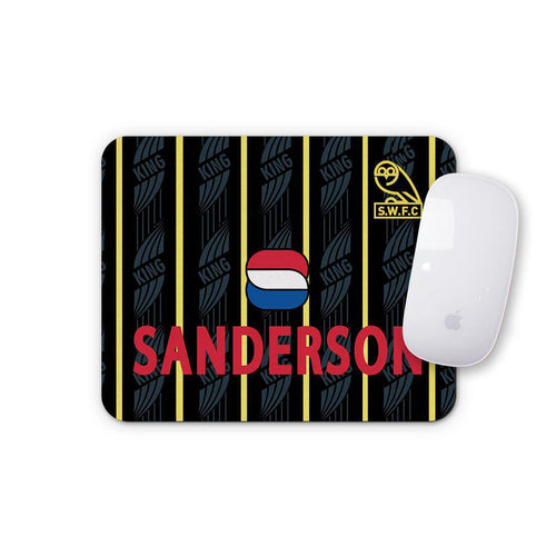 Sheffield Wednesday 1994 Away Mouse Mat-Mouse mat-The Terrace Store