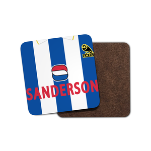 Sheffield Wednesday 1994 Home Coaster-Coaster-The Terrace Store